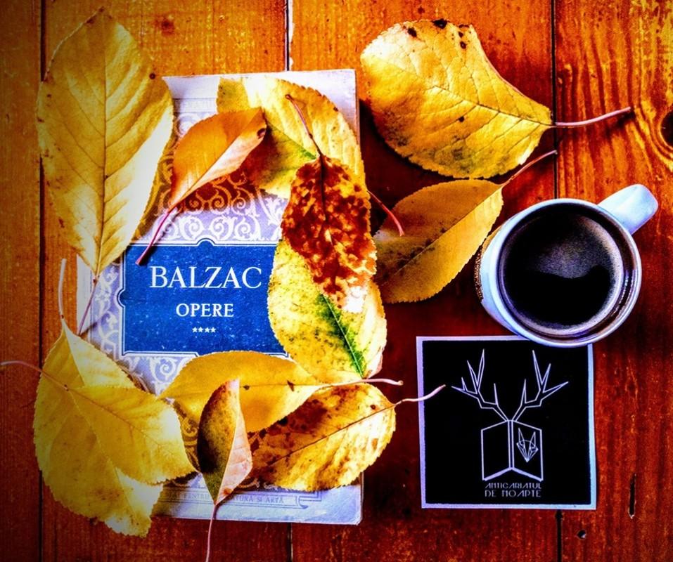 Octombrie magic cu scrierile lui Honoré de Balzac