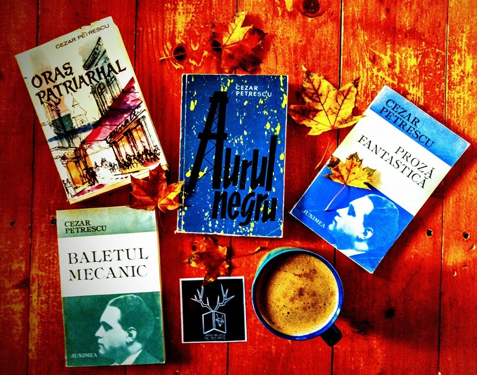Octombrie cu multe cărți bune de Cezar Petrescu...