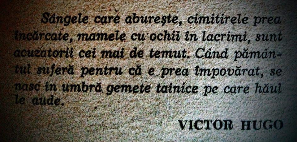 Pe 26 februarie 1802 se năștea scriitorul Victor Hugo...
