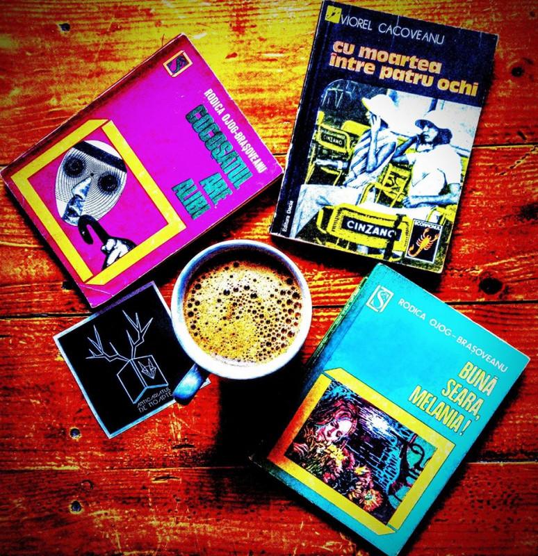Primăvara aceasta citim multe cărți din colecția Scorpionul...