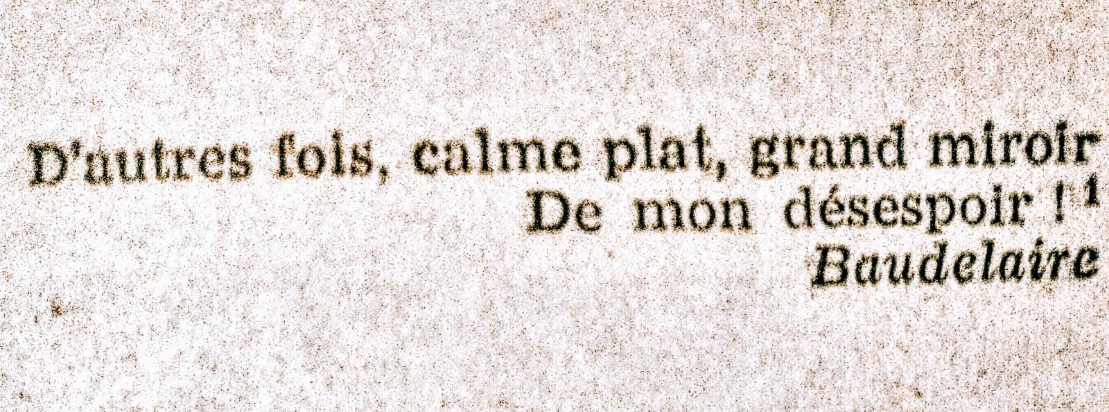 199 de ani de la nașterea lui Charles Baudelaire...
