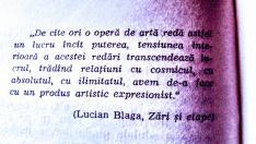 Pe 9 mai 1895 se năștea scriitorul Lucian Blaga...