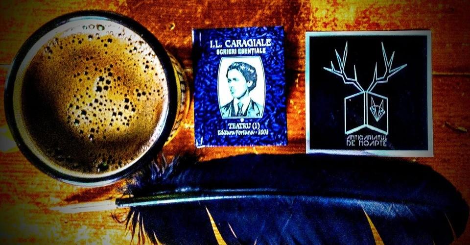 O cafea cu I.L. Caragiale