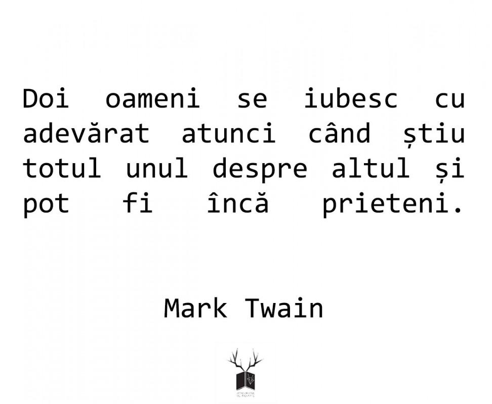 Mark Twain poate fi descoperit prin cărțile sale