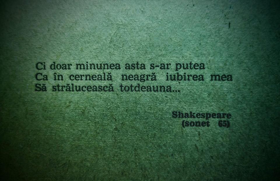 La început de iulie e vremea perfectă pentru Shakespeare