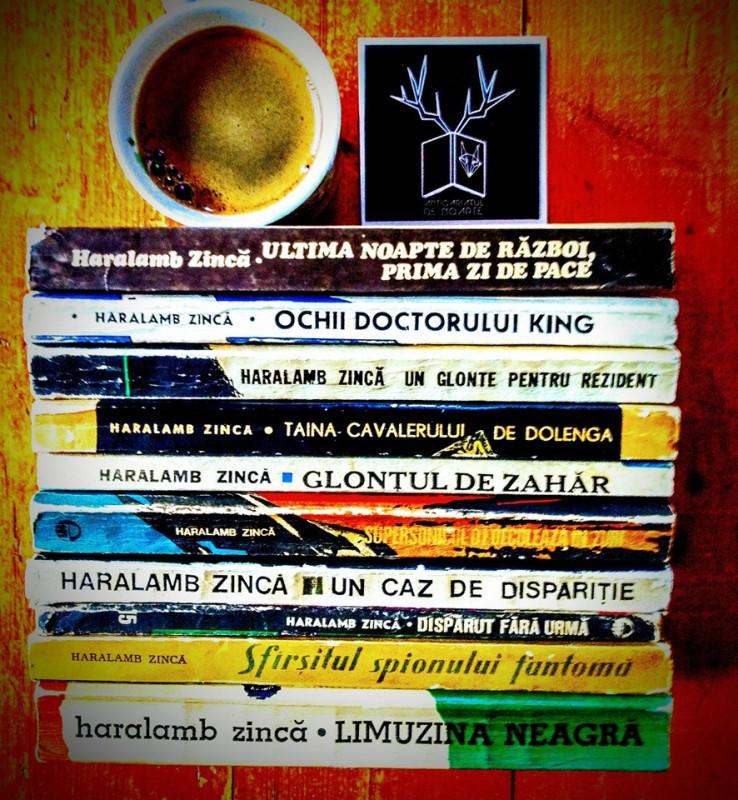 Haralamb Zincă și romanele sale polițiste