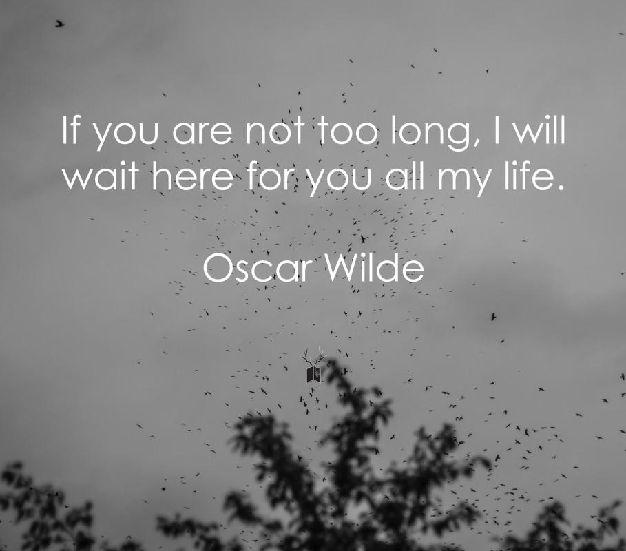 Oscar Wilde într-o zi de luni
