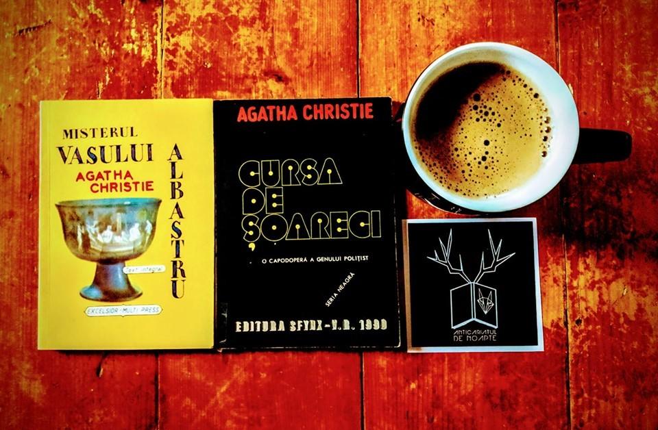 O cafea amară cu Agatha Christie