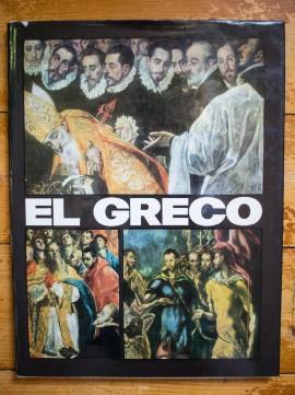 Album - El Greco (editie hardcover, in limba engleza)