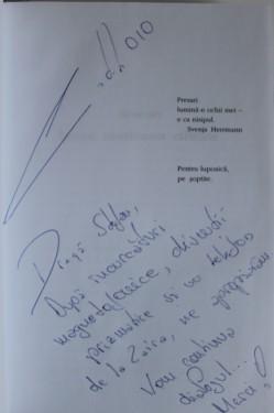 Catalin Dorian Florescu - Zaira (cu autograf)