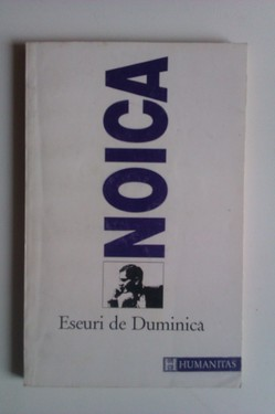 Constantin Noica - Eseuri de duminica