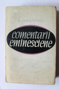 D. Murarasu - Comentarii eminesciene