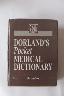 Dorland's Pocket Medical Dictionary (editie hardcover, in limba engleza)