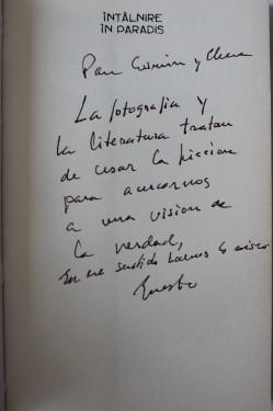 Ernesto Pinto-Bazurco Ritter - Intalnire in paradis (cu autograf)