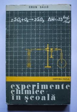 Ervin Sallo - Experimente chimice in scoala