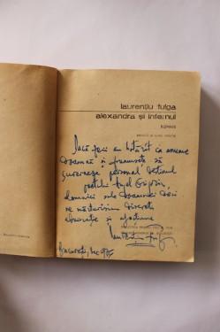Laurentiu Fulga - Alexandra si infernul (cu autograf)