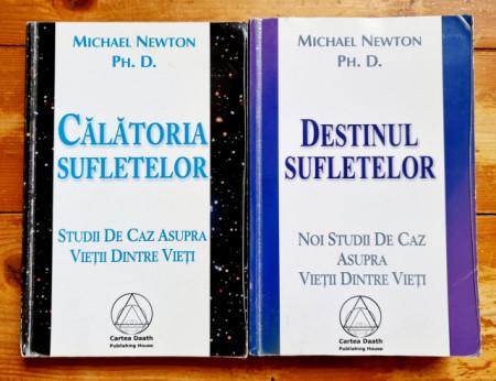 Michael Newton Ph. D. - Calatoria sufletelor. Destinul sufletelor (2 vol.)