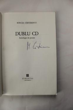 Mircea Cartarescu - Dublu CD (cu autograf)