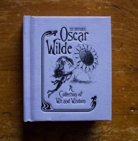 Poze Oscar Wilde - The quotable Oscar Wilde - A collection of wit and wisdom (editie hardcover, format liliput)