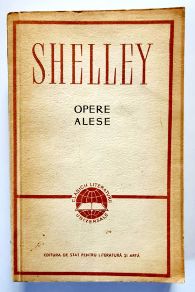 Percy B. Shelley - Opere alese