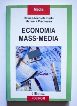 Raluca-Nicoleta Radu, Manuela Preoteasa - Economia mass-media