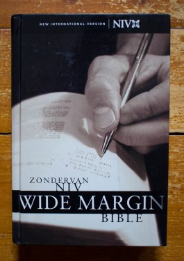 Zondervan Niv - Wide Margin Bible (editie hardcover, in limba engleza)
