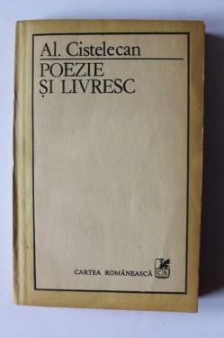 Al. Cistelecan - Poezie si livresc (volum de debut)