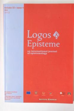 Antologie - Logos. Episteme - an international journal of epistemology