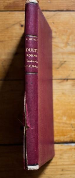Arthur Conan Doyle - Duett (editie hardcover, antebelica, frumos relegata)