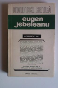 Biblioteca critica - Eugen Jebeleanu