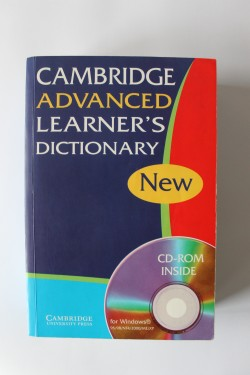 Cambridge advanced learner`s dictionary