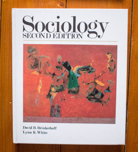David E. Brinkerhoff, Lynn K. White - Sociology (second edition) (editie hardcover, in limba engleza)