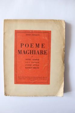 Eugen Jebeleanu – Poeme maghiare din Petofi Sandor, Ady Endre, Jozsef Attila, Radnoti Miklos (cu autograf)
