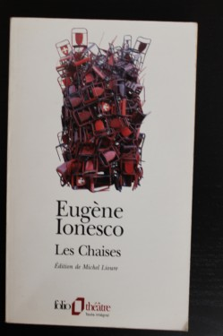 Eugene Ionesco - Les Chaises (editie in limba franceza)