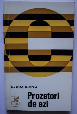 G. Dimisianu - Prozatori de azi