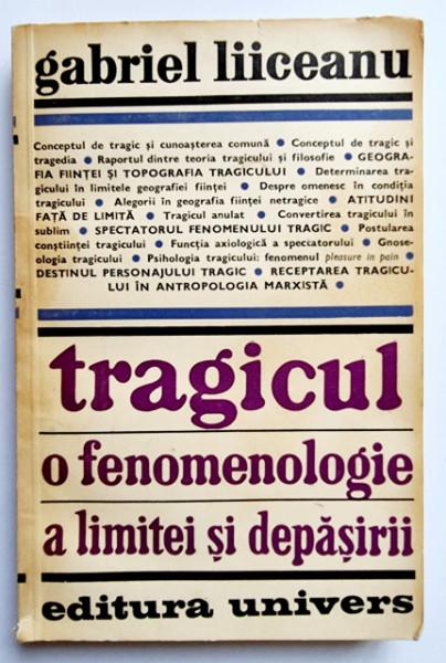 Gabriel Liiceanu - Tragicul. O fenomenologie a limitei si depasirii