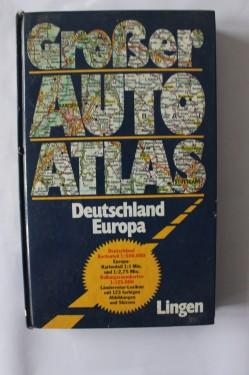 Grober Auto Atlas - Deutschland Europa (editie hardcover, in limba germana)
