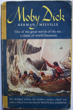 Poze Herman Melville - Moby Dick (abridged edition)