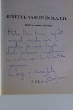 Ioan Grosan - Judetul Vaslui in NATO (cu autograf)