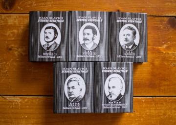 Ioan Slavici - Scrieri esentiale (5 vol. in caseta speciala, format liliput, hardcover)