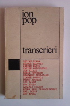 Ion Pop - Transcrieri