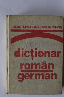 Jean Livescu, Emilia Savin - Dictionar roman-german (editie hardcover)