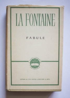 La Fontaine - Fabule (editie hardcover)