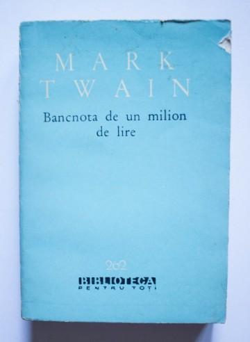 Mark Twain - Bancnota de un milion de lire