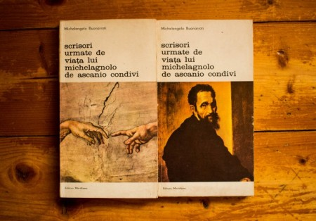 Michelangelo Buonarroti - Scrisori urmate de Viata lui Michelangelo de Ascanio Condivi (2 vol.)