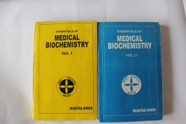 Poze Mushtaq Ahmed - Essentials of Medical Biochemistry (2 vol., editie in limba engleza)