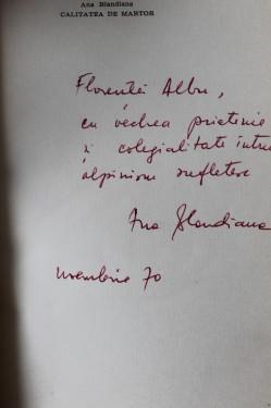 Ana Blandiana - Calitatea de martor (cu autograf)
