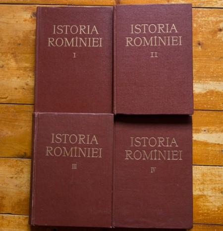 Colectiv autori - Istoria Romaniei (4 vol., editie hardcover)