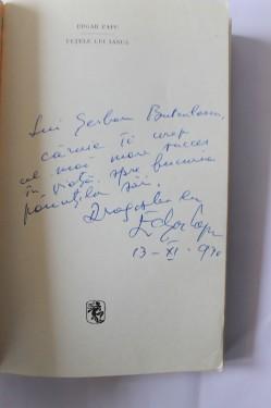 Edgar Papu - Fetele lui Ianus (cu autograf)