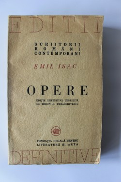 Emil Isac - Opere (editie definitiva)
